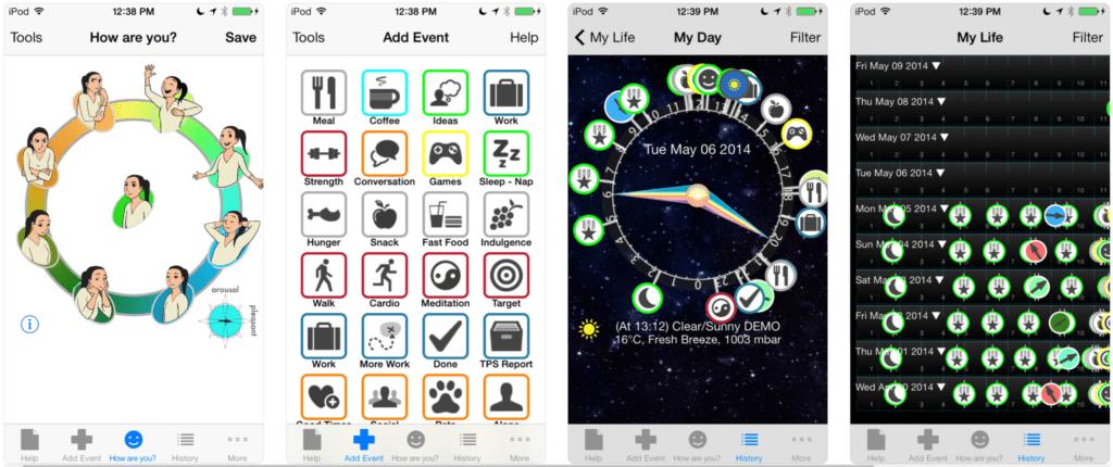 Better Mood Tracker: A Quantified Self Research Tool Screenshots
