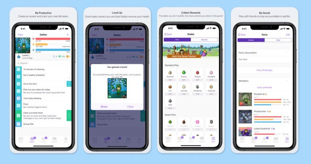 Habitica Screenshots