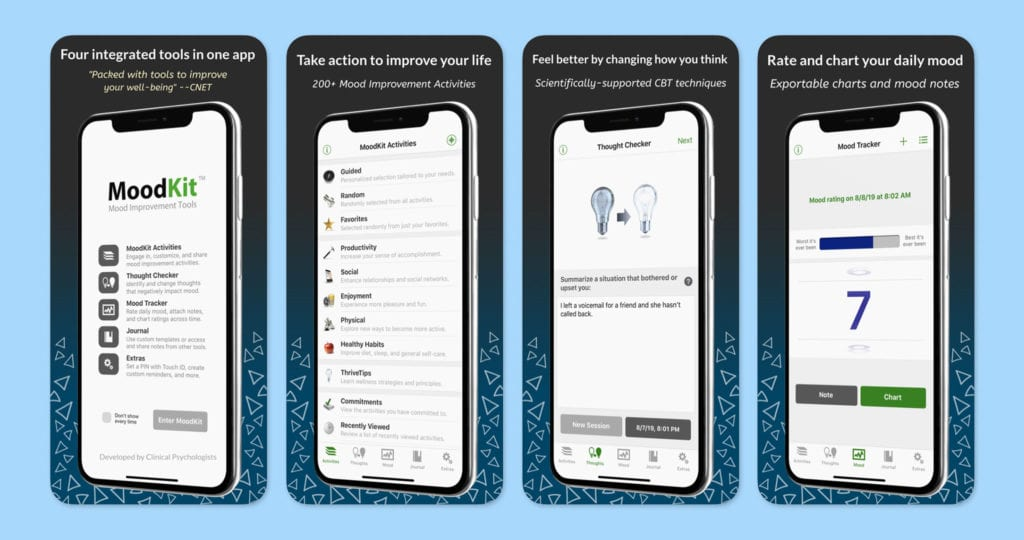 MoodKit – Mood Improvement Tools Screenshots