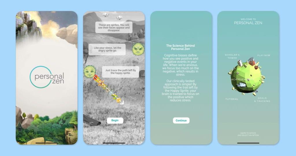 Personal Zen Screenshots