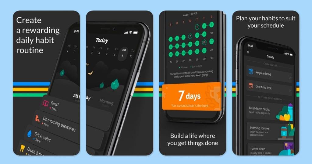 Productive – Habit Tracker Screenshots