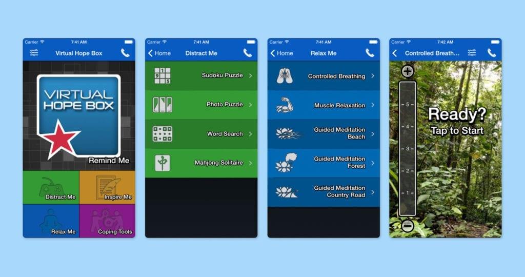 Virtual Hope Box Screenshots